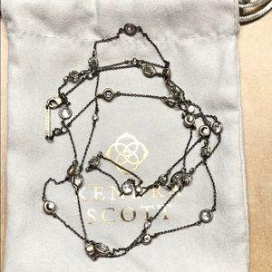 Kendra Scott Augie necklace.